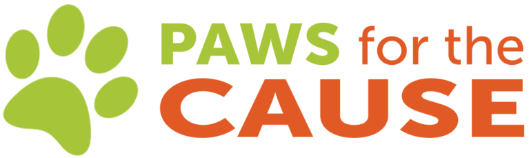 Paws for the Cause logo